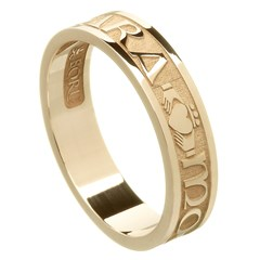 My Soul Mate Yellow Gold Wedding Band