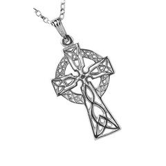 Medium Filigree Silver Celtic Cross
