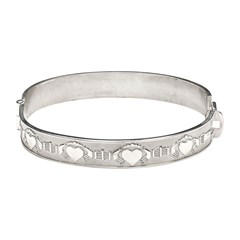 Claddagh Gaelic Bangle