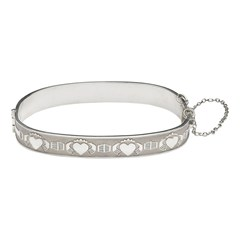 My Soul Mate Claddagh Bangle