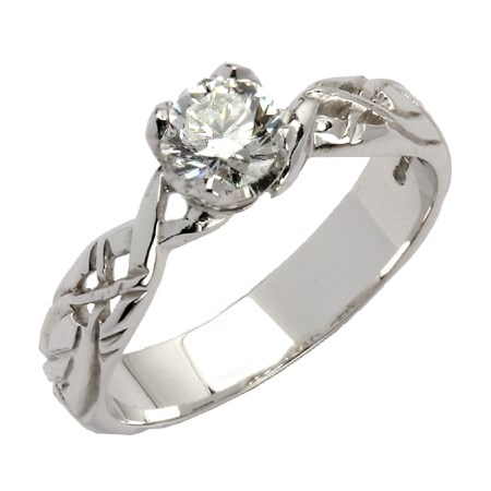 Livia Solitaire Round Setting with Brilliant Cut Diamond