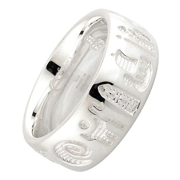 History Of Ireland Silver Ring