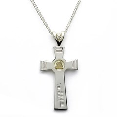Trinity Knot Faith Cross