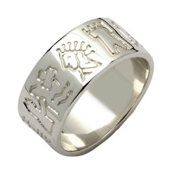 Impressions of Ireland Silver Ring