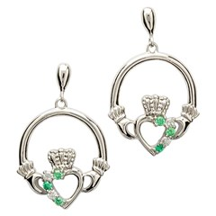 Claddagh Heart Set Earrings