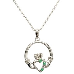 Claddagh Heart Set Pendant