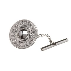 Celtic Warrior Large Silver Tie Tac