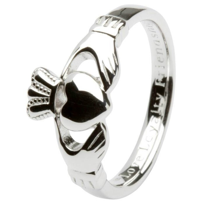 Gents Love, Loyalty, Friendship Claddagh Ring