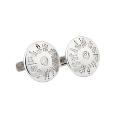 History Of Ireland Silver Cufflinks