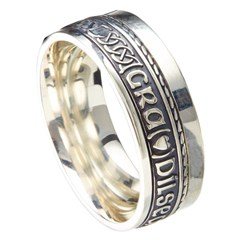 Love Loyalty Friendship Eternal Promise Silver Band