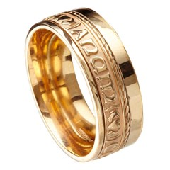 My Soul Mate Eternal Promise Yellow Gold Band