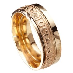 Love Of My Heart Eternal Promise Yellow Gold Band