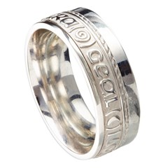 Love Of My Heart Eternal Promise White Gold Band