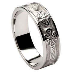 Celtic Cross Silver Ring (Old Model)