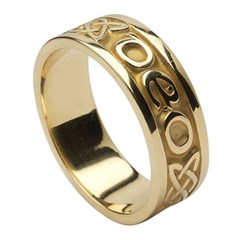 Love Forever Yellow Gold Ring (Old Model)