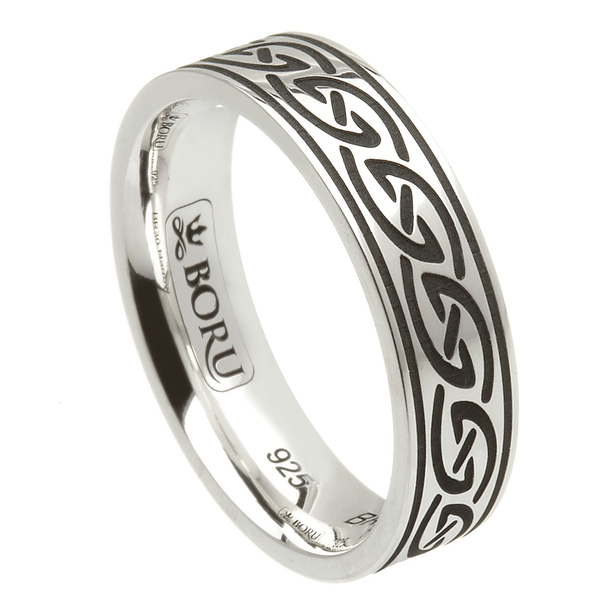 Celtic Waves Silver Ring