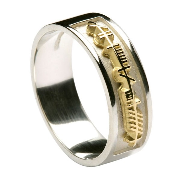 click buy ring product rings mens soulmate plated revere gold soul men wedding to zoom mate r silver web s