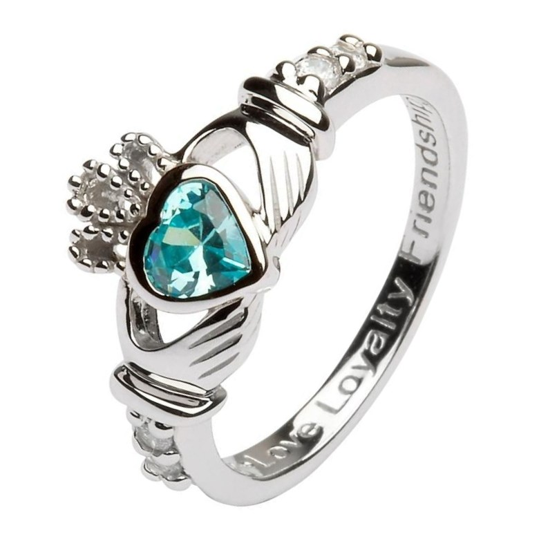 com ring jewelry rings header heavy irish bands clatter best claddagh top