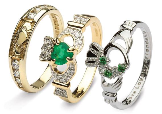 Anello fidanzamento irlandese