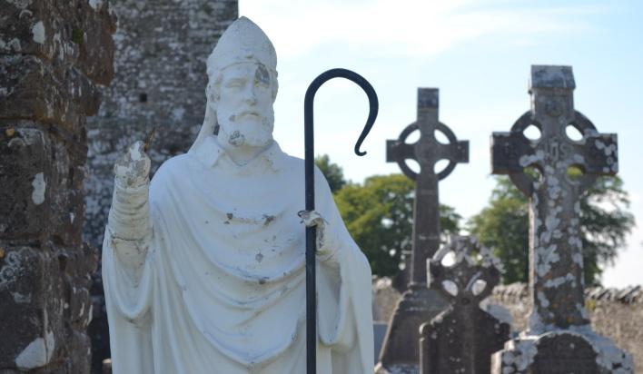 Die Geschichte von Saint Patrick - Patron Saint von Irland - Rings from  Ireland