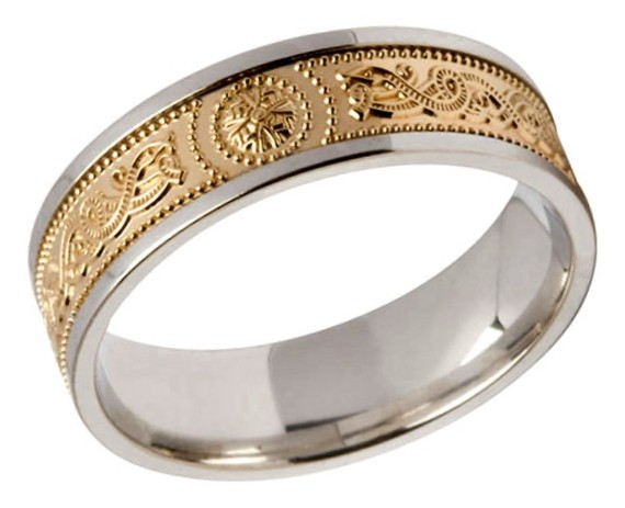 celtic warrior ring - Medieval Wedding Rings