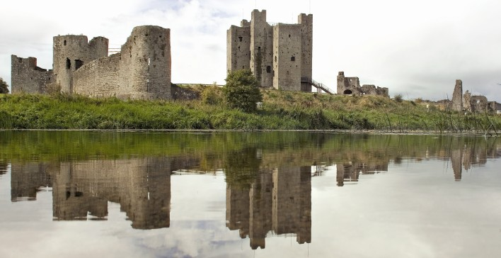 Trim Castle in County Meath