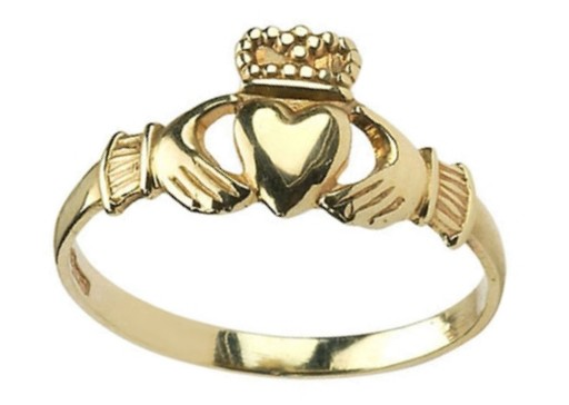 Baby Claddagh Ring