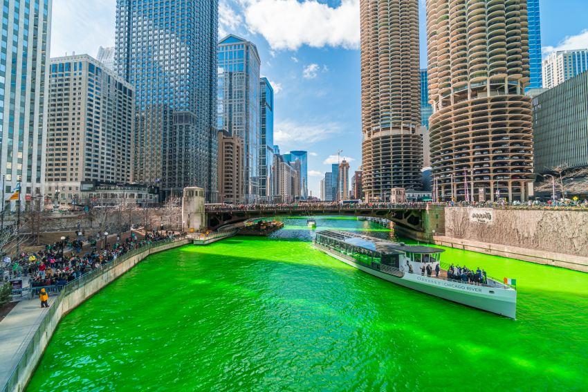 Saint Patricks Day in Chicago